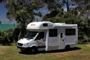 Britz Campervan Rentals 6 Berth - Frontier campervan hire alice springs