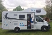 Bunk Campers Grande motorhome rental united kingdom
