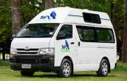 Tui Campers NZ Hi Top 2/3 Berth Trail Finder campervan rental new zealand