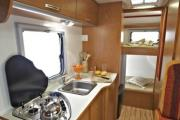 Group B - Europeo 4 motorhome rental - italy