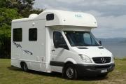 4 Berth Mercedes Sprinter campervan rental new zealand