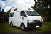 Happier 3 Kuga Berth Camper new zealand airport campervan hire