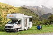 4 Berth - Explorer campervan hirequeenstown