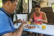 Britz Campervan Rentals (Intl) 4 Berth - Explorer campervan rental new zealand