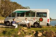 Mighty Campers AU 2 Berth Deuce australia airport motorhome rental