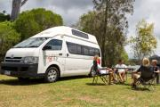 Mighty Campers AU Domestic 4 Berth Doubledown motorhome rental perth
