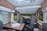 Pure Motorhomes Spain Comfort Luxury I 7051 EB or similar cheap motorhome rental spain