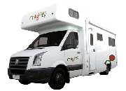 6 Berth Big Six australia airport motorhome rental