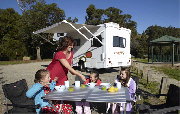 Mighty Campers 6 Berth Big Six campervan hire alice springs