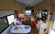 Mighty Campers 6 Berth Big Six motorhome rental australia