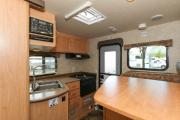 Fraserway RV Rentals TC-B (Truck Camper with Bunk Bed) motorhome rental vancouver