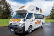 Hi5 Camper campervan hire - new zealand