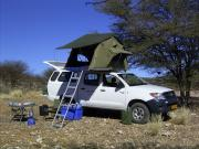 Caprivi Camper Hire Toyota Hilux Double Cab 2.4L with 1 Rooftent (2 PAX) motorhome motorhome and rv travel