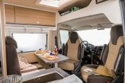 Pure Motorhomes Spain Urban Plus Globecar Pössl or similar motorhome rental spain