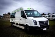 Kiwi Campers NZ 2 Berth Euro S/T campervan rental new zealand