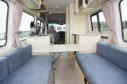 Kiwi Campers NZ 2 Berth Euro S/T new zealand airport campervan hire