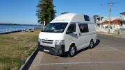 Big Sky Campers Australia  HiTop - Side Facing campervan hire sydney
