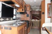 Meridian RV Category 4 C-LG (C23-27) motorhome rental vancouver