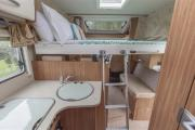 Pure Motorhomes New Zealand 4 Berth Ranger new zealand camper van hire