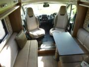 4 Berth Champagne campervan hire - new zealand