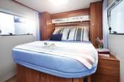 Kiwi Campers NZ 4 Berth Cruise campervan hire christchurch