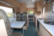 Kiwi Autohomes Motorhome Rental Riviera 6 Berth Deluxe worldwide motorhome and rv travel