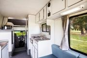 Budget Escape campervan hire - new zealand