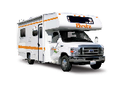 Britz Campervan Rentals US 4 Berth Class C non-slide camper rental denver