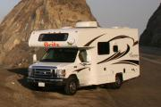 Britz Campervan Rentals US 4 Berth Class C non-slide usa airport motorhomes