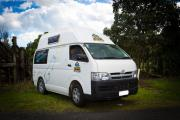 Happy Jackpot 2/3 berth campervan hire - new zealand