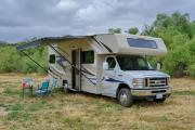 Road Bear RV 28-30 ft Class C Motorhome with slide out usa motorhome rentals