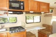 Road Bear RV International 25-27 ft Class C Motorhome with slide out rv rental california