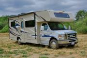 Road Bear RV International 25-27 ft Class C Motorhome with slide out worldwide motorhome and rv travel
