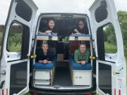 Bunkie Sleepa 4 berth campervan hire - new zealand