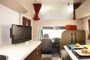 Star RV New Zealand international Hercules RV - 6 Berth new zealand airport campervan hire