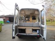 Pure Motorhomes New Zealand 2/3 Berth ST campervan hire christchurch