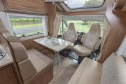 Pure Motorhomes New Zealand 4 Berth Cruise motorhome rental new zealand