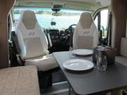 4 Berth Bailey campervan hire - new zealand