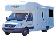 Mighty Campers NZ International 4 Berth Double Up new zealand airport campervan hire