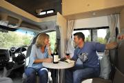 4 Berth Double Up campervan hire - new zealand