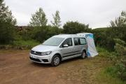 Europcar Motorhome Rentals IS VW Caddy Minicamper - Group XM worldwide motorhome and rv travel