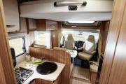 Enviro Motorhomes Spain Carado T-339 cheap motorhome rental spain