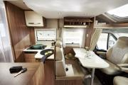 Enviro Motorhomes Spain Carado T-339 campervan rental spain
