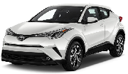Toyota C-HR or similar car hirenew zealand