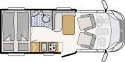 Pure Motorhomes Sweden Compact Plus Sunlight T63 or similar worldwide motorhome and rv travel