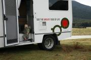 Mighty Campers NZ 4 Berth Double Up new zealand airport campervan hire