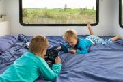 Mighty Campers NZ 4 Berth Double Up motorhome rental new zealand