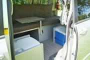 Tui Campers NZ Deluxe Sleepervan motorhome rental new zealand