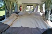 Tui Campers NZ Deluxe Sleepervan new zealand airport campervan hire