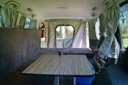 Tui Campers NZ Deluxe Sleepervan campervan hire christchurch